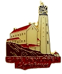 Cape Henlopen Lighthouse Hat Tac or Lapel Pin