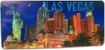 Las Vegas New York Panoramic 3D Fridge Magnet
