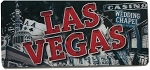 Las Vegas Nevada Montage Panoramic 3D Fridge Magnet