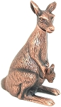 Kangaroo Die Cast Metal Collectible Pencil Sharpener