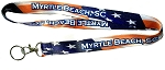 Myrtle Beach South Carolina Stars and Stripes Lanyard