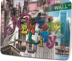 New York City Montage 3D Fridge Magnet