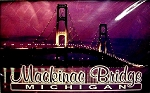 Mackinac Bridge Michigan Playing Cards