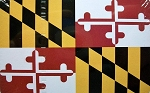 Maryland Flag Design Souvenir Playing Cards