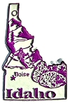 Idaho Boise United States Fridge Magnet