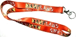 Maryland Red Flag Design Souvenir Lanyard