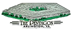 The Pentagon Arlington Virginia Fridge Magnet