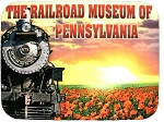 The Railroad Museum of Pennsylvania Photo Fridge Magnet
