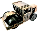Pavement Roller Die Cast Metal Collectible Pencil Sharpener