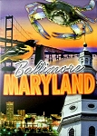 Baltimore Maryland Souvenir Playing Cards
