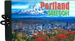 Portland Oregon 3D Luggage Tag