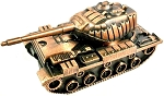 Sherman Tank Die Cast Metal Collectible Pencil Sharpener