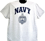 United States Naval Academy Crest Tee-Shirt