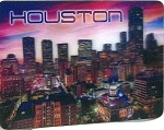 Houston Texas 3D Fridge Magnet