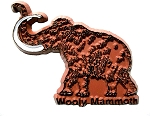 Wooly Mammoth Dinosaur Fridge Magnet