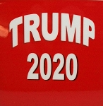 Trump 2020 Red Fridge Magnet