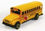 Yellow School Bus Die Cast Metal Collectible Pencil Sharpener