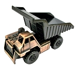 Off-Road 55 Ton Dump Truck Die Cast Metal Collectible Pencil Sharpener