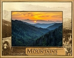Great Smoky Mountains National Park Laser Engraved Wood Picture Frame