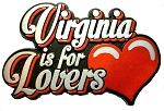 Virginia is for Lovers Fridge Magnet