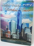 New York City Freedom Tower 3D Postcard