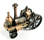 Steam Driven Fire Engine Die Cast Metal Collectible Pencil Sharpener Design 1