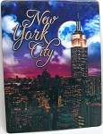 New York City Empire State Building 3D Postcard