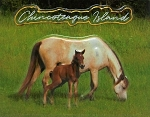 Chincoteaque Island with Horses Virginia Fridge Magnet