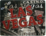 Las Vegas Nevada Montage Panoramic Jumbo 3D Fridge Magnet