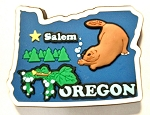 Oregon Multi Color Fridge Magnet Design 18