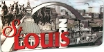 St Louis Missouri 3D Fridge Magnet