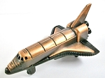 Space Shuttle Die Cast Metal Collectible Pencil Sharpener Design 1