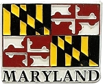 Maryland Flag Fridge Magnet