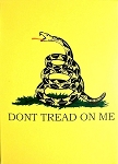 Don't Tread On Me Souvenir Playing Cards