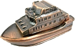 Yacht Die Cast Metal Collectible Pencil Sharpener