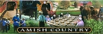 Amish Country with Quilt Fridge Magnet