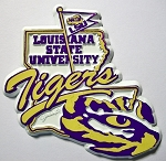 LSU Tigers Fridge Magnet-NCAA