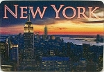 New York City Empire State Building From 30 Rock 3D Fridge Magnet