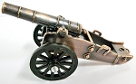 Revolutionary War Cannon Die Cast Metal Collectible Pencil Sharpener Design 1