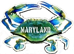 Maryland Blue Crab Artwood Fridge Magnet