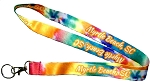 Myrtle Beach South Carolina Tie Dye Lanyard