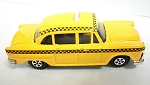 Yellow Taxi Die Cast Metal Collectible Pencil Sharpener Design 1