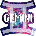 Gemini Fridge Magnet