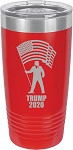 Trump 2020 Stainless Steel Insulated Tumbler with Lid 20 Oz.