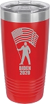 Biden 2020 Stainless Steel Insulated Tumbler with Lid 20 Oz.
