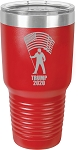 Trump 2020 Stainless Steel Insulated Tumbler with Lid 30 Oz.