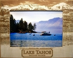 Lake Tahoe Incline Village Laser Engraved Wood Picture Frame