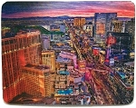 Las Vegas Strip Aerial View 3D Fridge Magnet