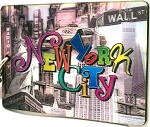 New York City Montage Double Sided 3D Key Chain