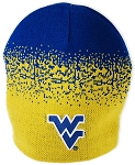 West Virginia Mountaineer's Gold and Blue Splash Beanie -NCAA